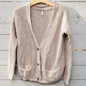 Free People | Oversize Chunky Knit Cardigan